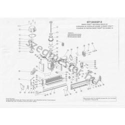 Bostitch BT1855-SP szegező alkatrészei