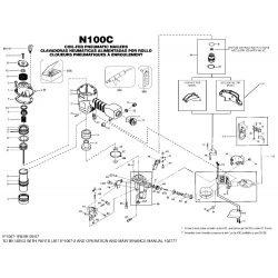 Bostitch N100C-N100CPP alkatrészei
