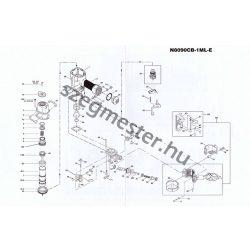 Bostitch N8090CB-1ML-E szegező alkatrészei