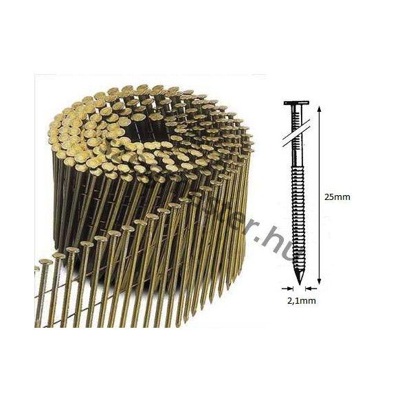 21/25 FR körtáras gépi szeg - gyűrűs, lapos (18.900 db)