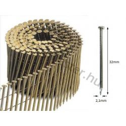 21/32 FC-C körtáras gépi szeg - sima, szalámi hegyű (14.700 db)
