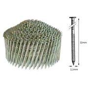 21/32 NR körtáras gépi szeg - gyűrűs, kúpos  (14.700 db)