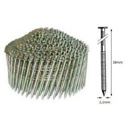 21/38 NR körtáras gépi szeg - gyűrűs, kúpos (10.500 db)