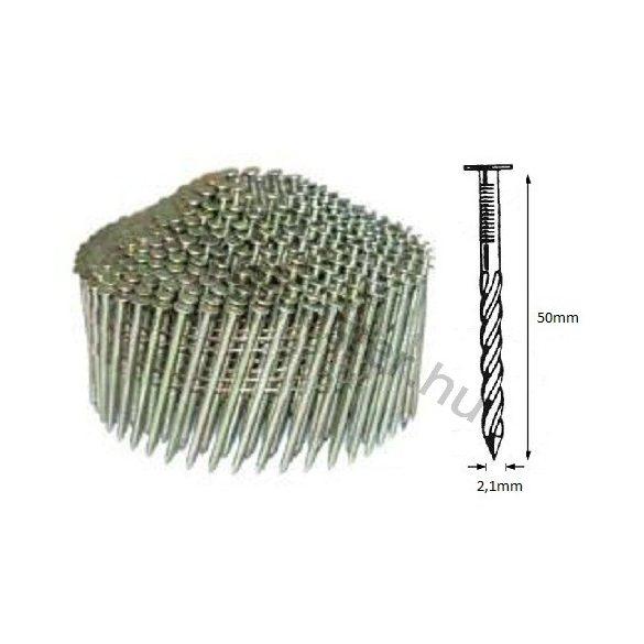 21/50 NS körtáras gépi szeg - csavart, kúpos (8.400 db)