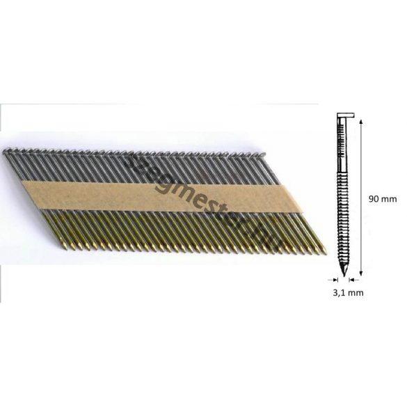 31/90 SIMA síktáras gépi szeg 34° (2000 db)