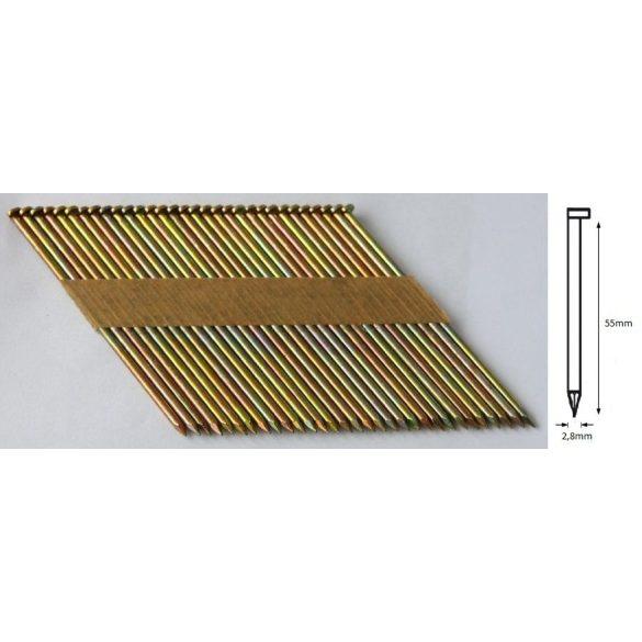 28/55 D síktáras sima gépi szeg (50°)