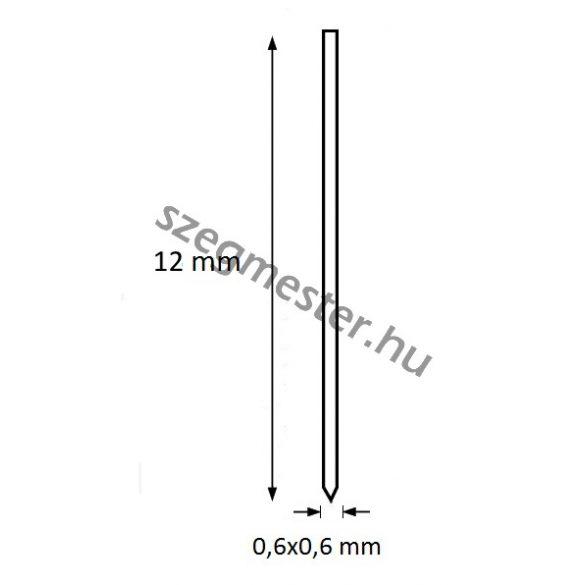 Mini-pin szeg 12mm OMER (20.000db)