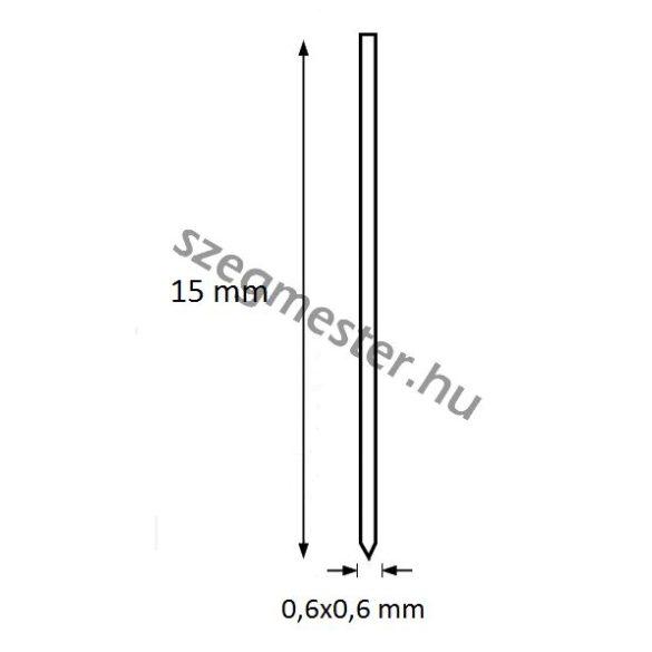 Mini-pin szeg 15mm OMER (20.000db)