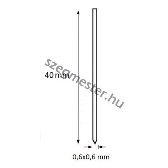 Mini-pin szeg 40mm OMER (10.000db)