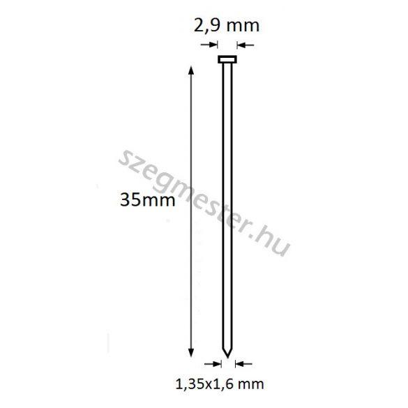TIP szeg 35mm (2500db)