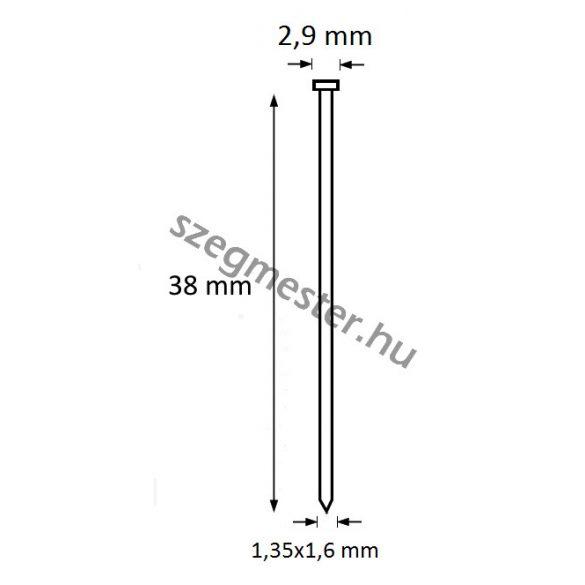 TIP szeg 38mm (2500db)