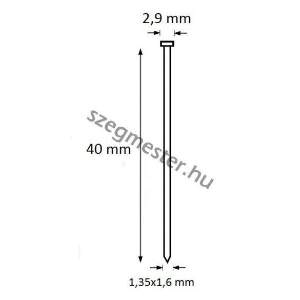 TIP szeg 40mm (2500db)