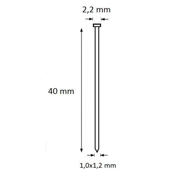 Ti-Pin szeg 40mm (5.000db)