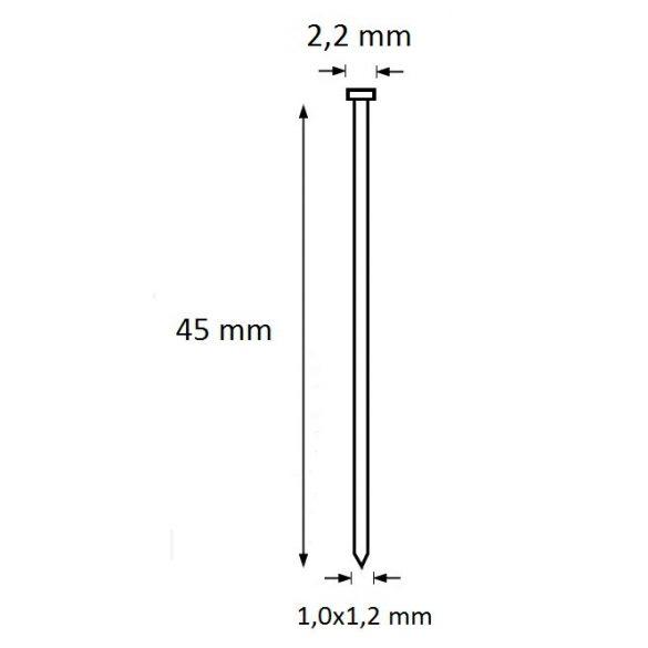 Ti-Pin szeg 45mm (5.000db)