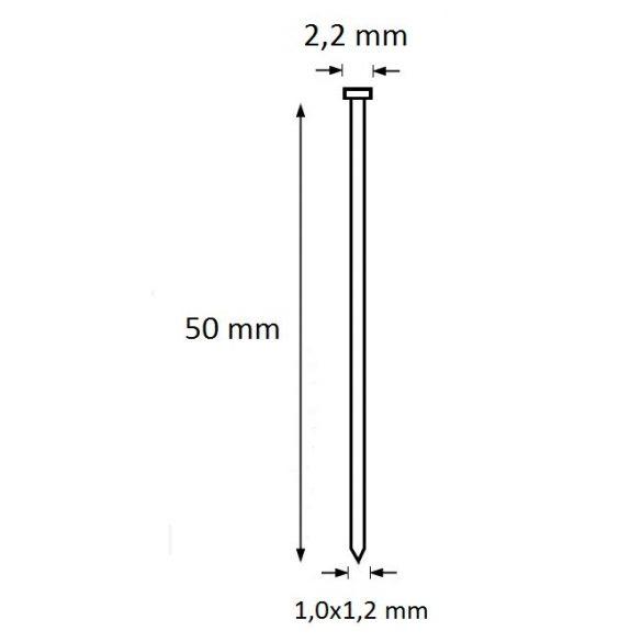 Ti-Pin szeg 50mm (5.000db)