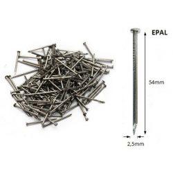 25/54 ömlesztett-huzalszeg, szalámi végű EPAL (650kg)