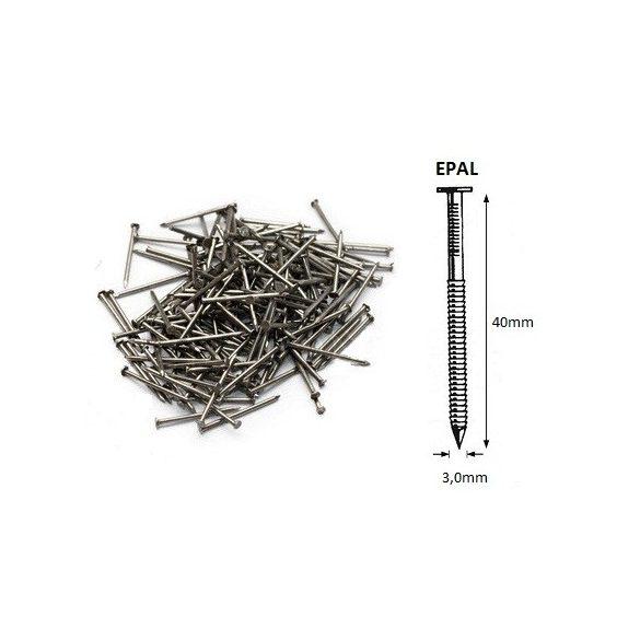 30/40 ömlesztett-gyűrűs szeg EPAL (900kg)