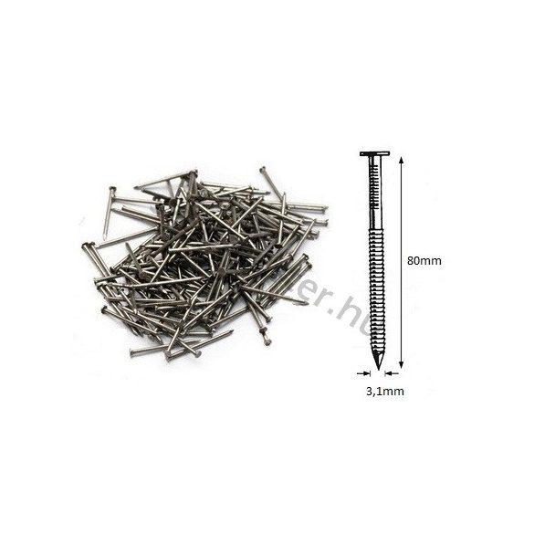 31/80 ömlesztett-gyűrűs szeg (5kg)