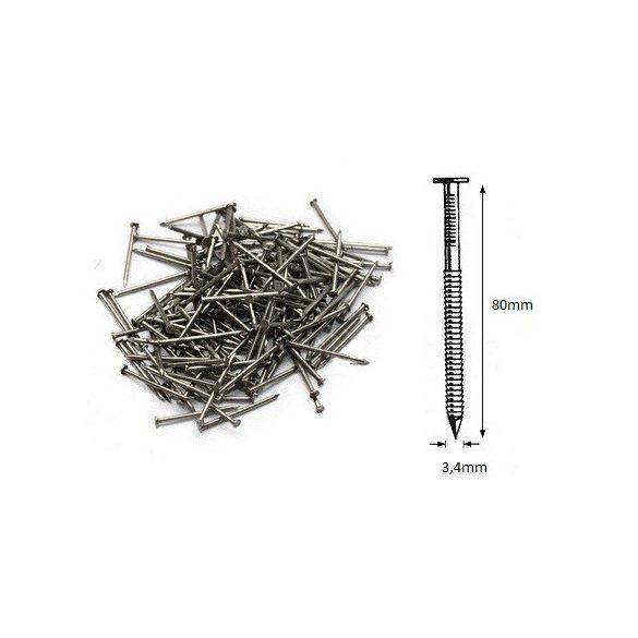 34/80 ömlesztett-gyűrűs szeg (550kg)