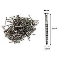 36/90 ömlesztett-gyűrűs szeg EPAL (25kg)