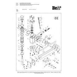 BeA 33/13-177 raklap jelölő alkatrészei