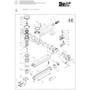 BeA 92/25-553 kapcsozó alkatrészei