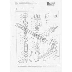 BeA 92/40-712 kapcsozó alkatrészei