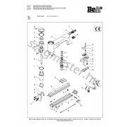 BeA 95/16-425 kapcsozó alkatrészei
