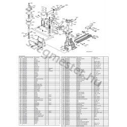 EVERWIN CCA22-35 dobozlezáró alkatrészei