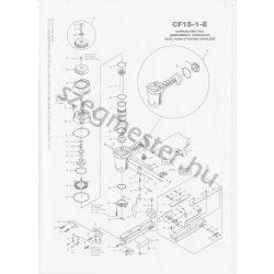Bostitch CF15-1-E kapcsozó alkatrészei