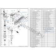 EVERWIN FSN160 szegező alkatrészei
