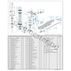 EVERWIN FSN2283 szegező alkatrészei