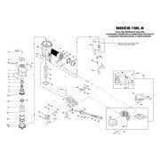Bostitch N80CB-1ML-E szegező alkatrészei