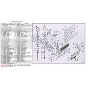 EVERWIN P650 szegező alkatrészei