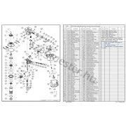EVERWIN SCN65 szegező alkatrészei