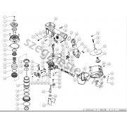 EVERWIN SCN51 szegező alkatrészei