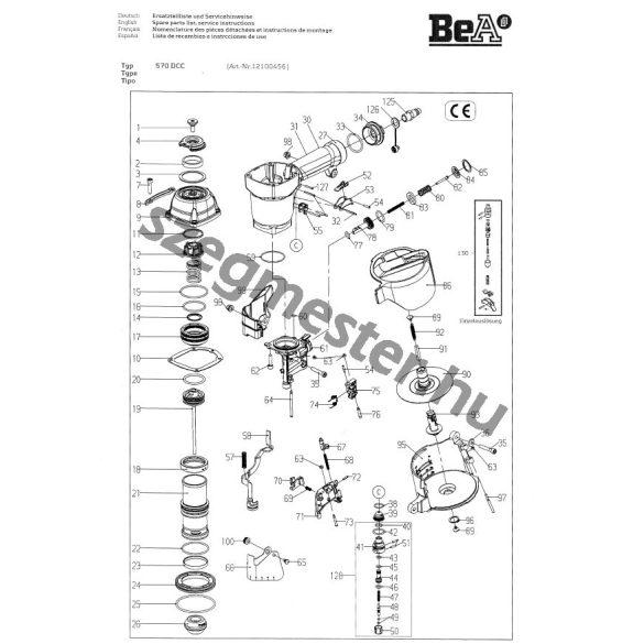 BeA 570 DC szegező