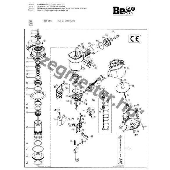 BeA 830 DC szegező