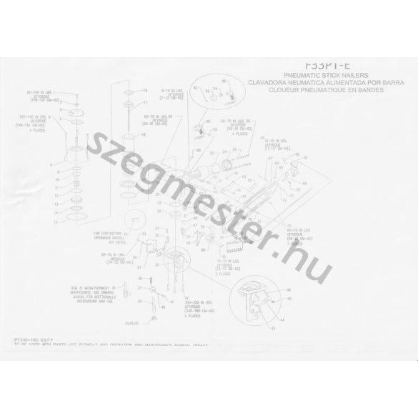 BOSTITCH F33PT-E síktáras szegező (34°)