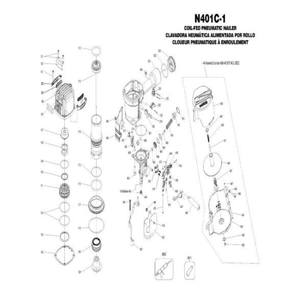 Bostitch N401C-1-E EPAL szegező