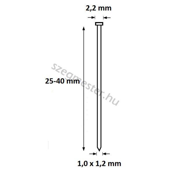 OMER 12.40 G üvegléc szegező