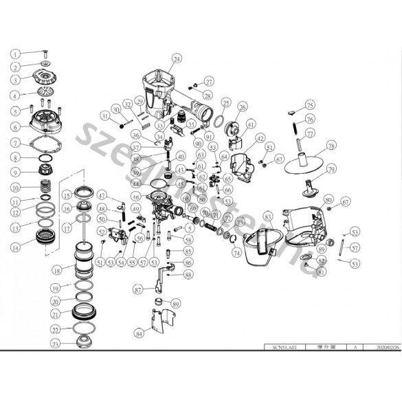 EVERWIN SCN51 szegező