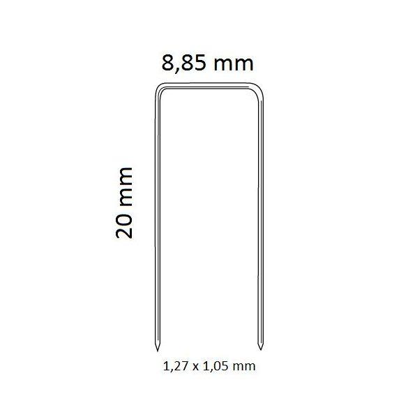 kapocs 92/20 (8.400 db)