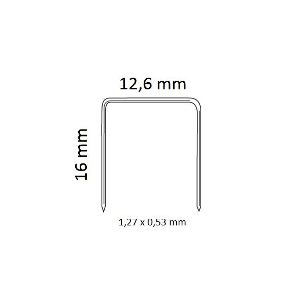 kapocs 95/16 (5000 db)