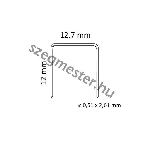 SB10302012Z kapocs 12mm (2100 db)