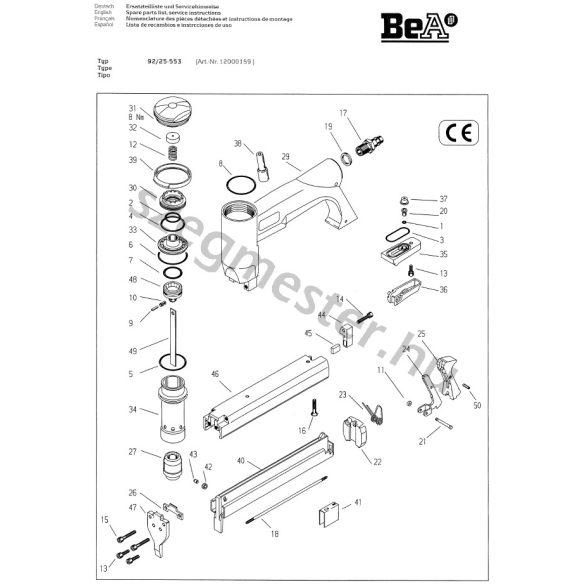 BeA 92/25-553 kapcsozó