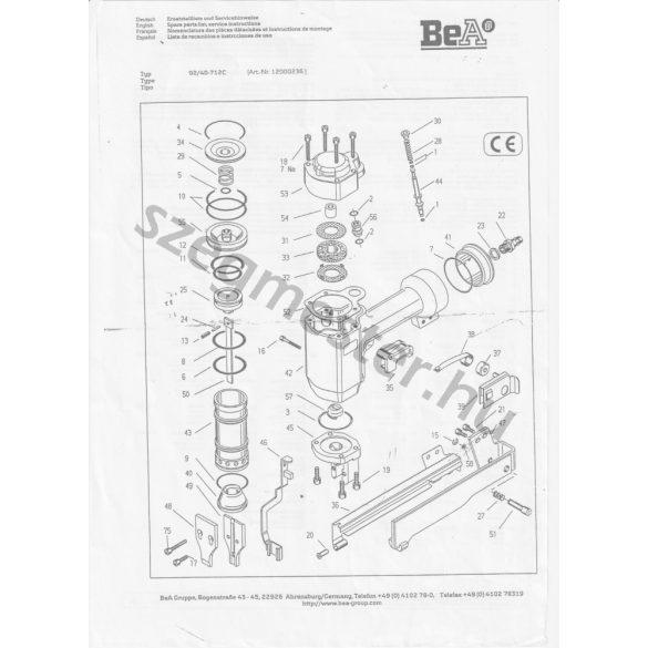 BeA 92/40-712 kapcsozó