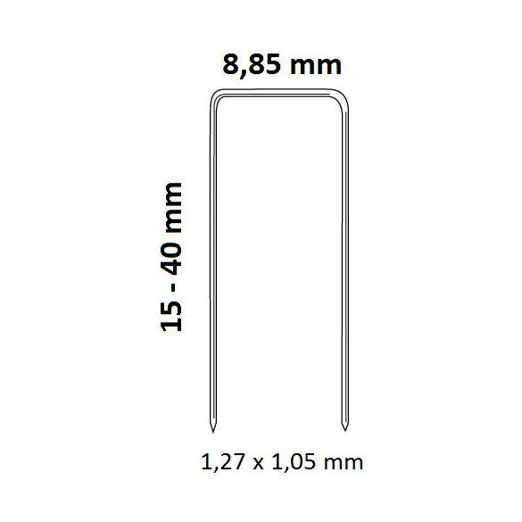 Bostitch SB156SL-1-E kapcsozó