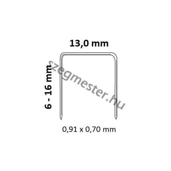 EVERWIN US8016LN kárpitos kapcsozó (hosszú orral)