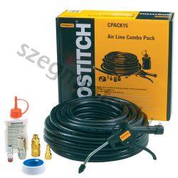 Bostitch CPACK15 levegőtömlő készlet 10mmx15m